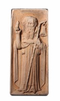 Saint Anthony the Great. A sculptor from Northern  ...