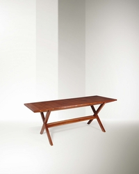 Franco Albini, a dining room table with  ...